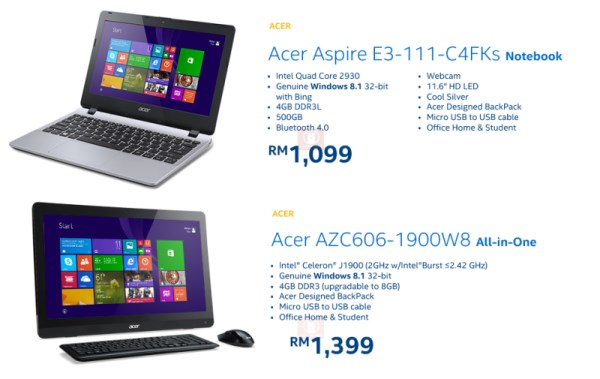 Acer - Intel Malaysia 2014 PC Refresh Campaign