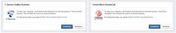 Facebook antimalware