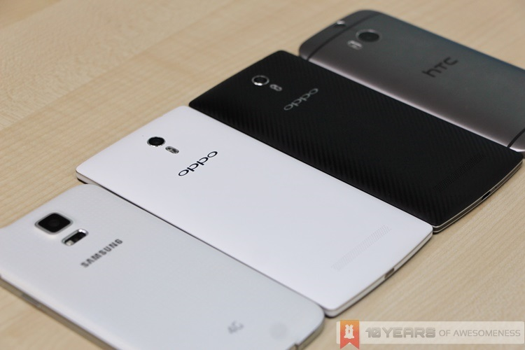 Hands On: Oppo Find 7 and Find 7a - Lowyat.NET