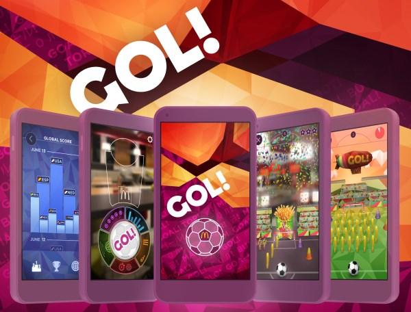McDonald's GOL! App