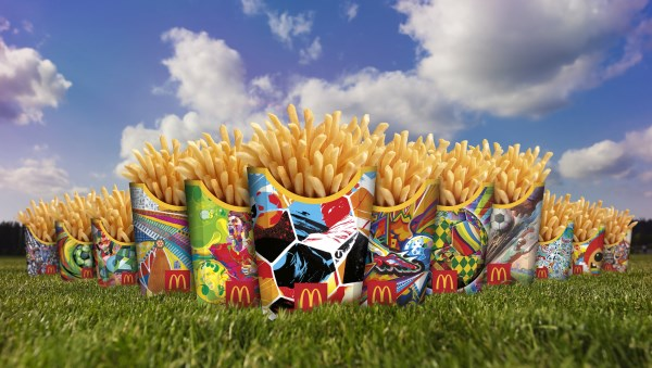 McDonald's 2014 FIFA World Cup Fry Box