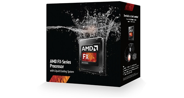 AMD FX-Series Processor With Liquid Cooling System