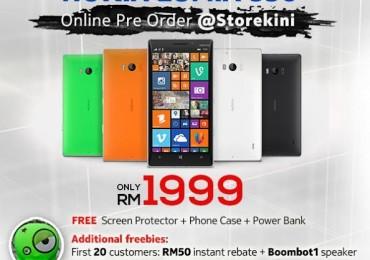 Nokia Lumia 930 Pre-Order at Storekini