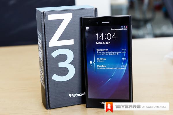 BlackBerry Z3-16