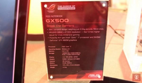 Computex 2014 - ASUS ROG GX500 04