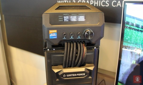 Computex 2014 - GIGABYTE WaterForce 07