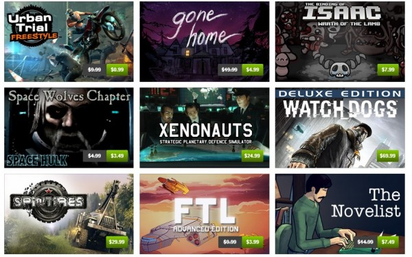 Humble Store page