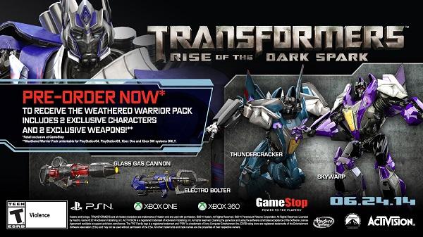 Transformers RotDS