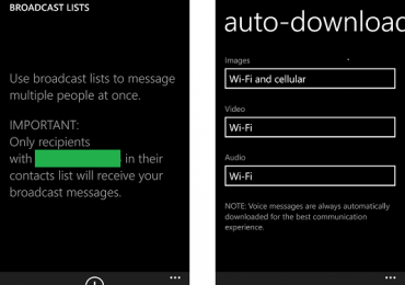 Whatsapp WP8