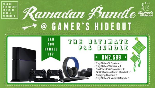 Gamer's Hideout The Ultimate PS4 Bundle