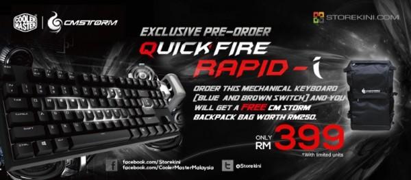 Cooler Master Quick Fire Rapid-i Storekini Pre-Order