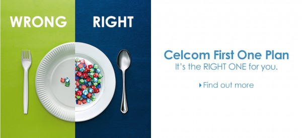 Celcom First One Plan