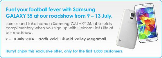 Celcom Road SHow Free S5