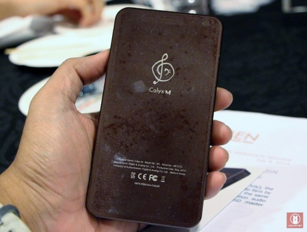 Hands On Calyx M High-Resolution Audio Player 04