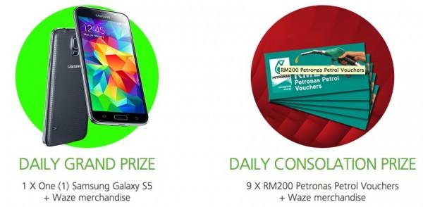 Maxis Waze Contest Prizes