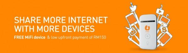 U Mobile Broadband Free Mifi