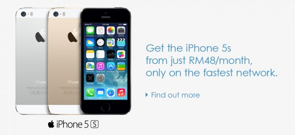 iPhone 5S Celcom From RM48