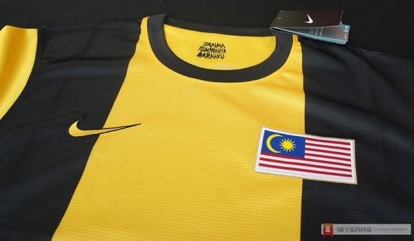 Nike Malaysia National Football Team Home Kit 2012/2013