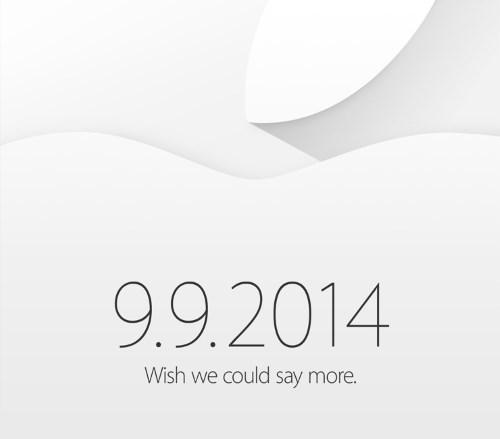 Apple Press Event - 9 September 2014