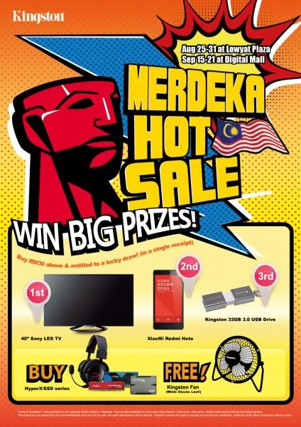 2014 Kingston Merdeka Hot Sale