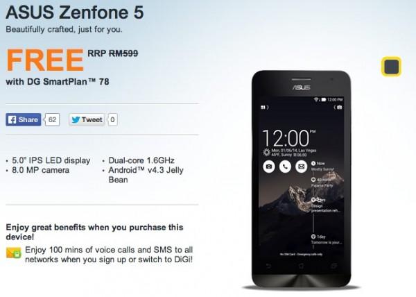 DiGi Asus Zenfone 5