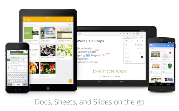 google releases slides app for ios devices lowyatnet With google docs sheets and slides app