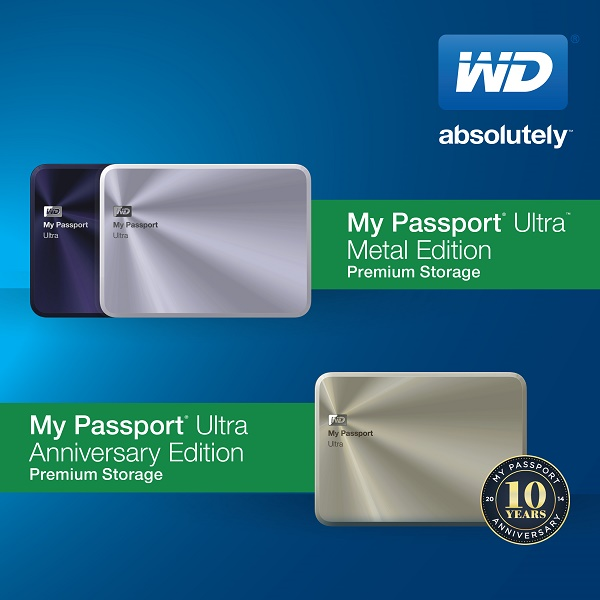 My Passport Ultra Metal and Anniversary Edition Product Image - 01
