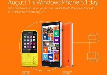 Nokia Malaysia Buy Lumia 930 Free Nokia 225