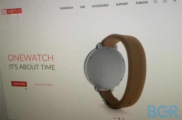 OnePlus OneWatch Product Page