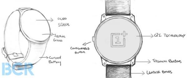 OnePlus OneWatch Sketch