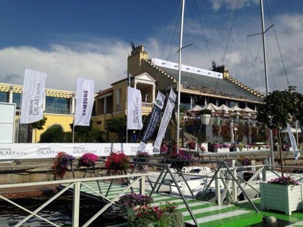 Samsung-galaxy-Alpha-yachting-event
