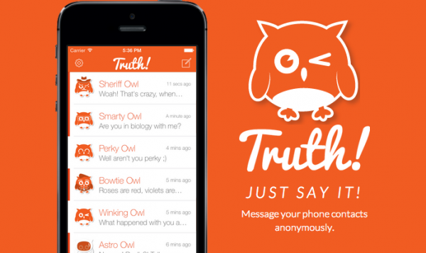 Truth-messanging-app
