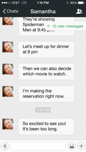 WeChat 5.4 Bookmark