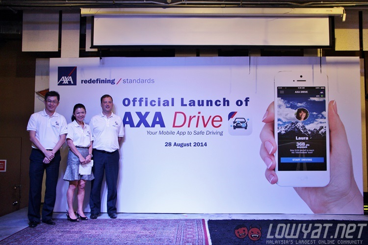 axa affin wants you to be a better driver with the new axa drive app lowyat net. Black Bedroom Furniture Sets. Home Design Ideas