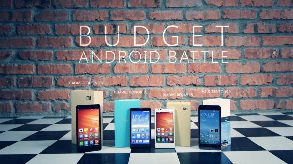 Budget Android Battle: Huawei Honor 3C vs Xiaomi Redmi Note vs Xiaomi Redmi 1S vs Asus Zenfone 5