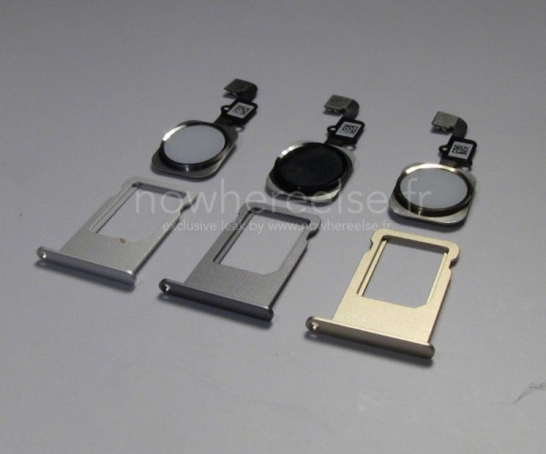 iphone 6 Home button and SIM tray