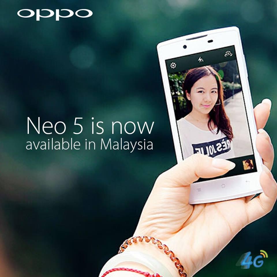 Harga Penjualan Oppo Neo 5