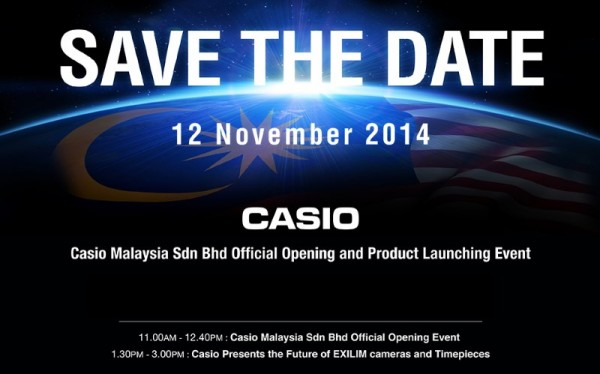 Casio Malaysia Official Launch