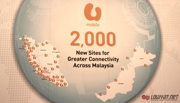 U Mobile 3G and LTE Expansion Plan