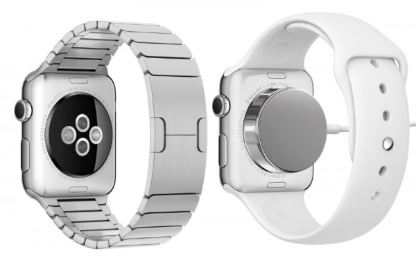 Apple Watch Back Sensor and Charging