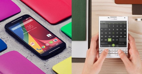Motorola Moto G 2nd Generation and BlackBerry Passport