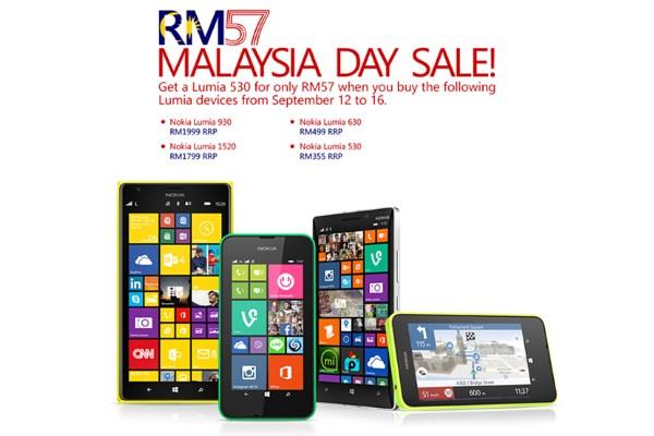 Microsoft Malaysia Lumia 530 Malaysia Day