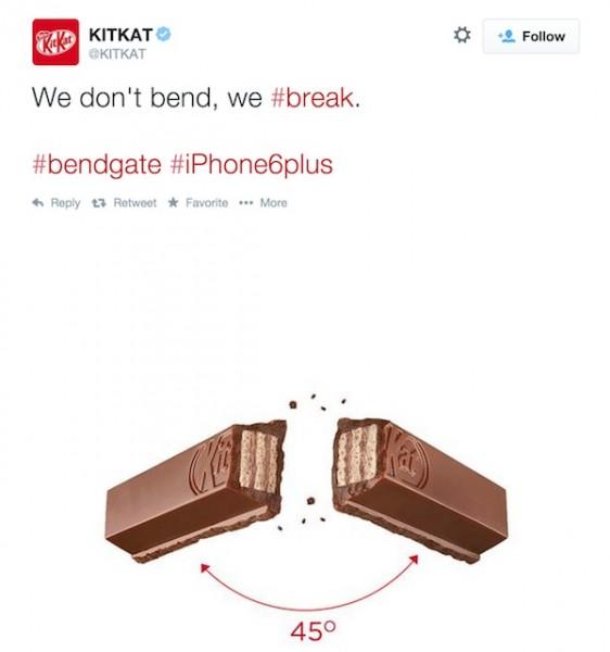Bendgate KitKat