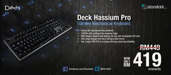 Deck Hassium Pro Sliding Banner