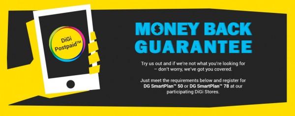 DiGi Money Back Guarantee