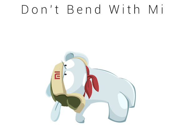 Don't Bend With Mi
