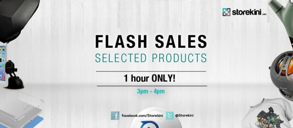 Flash Sales Sliding Banner Storekini