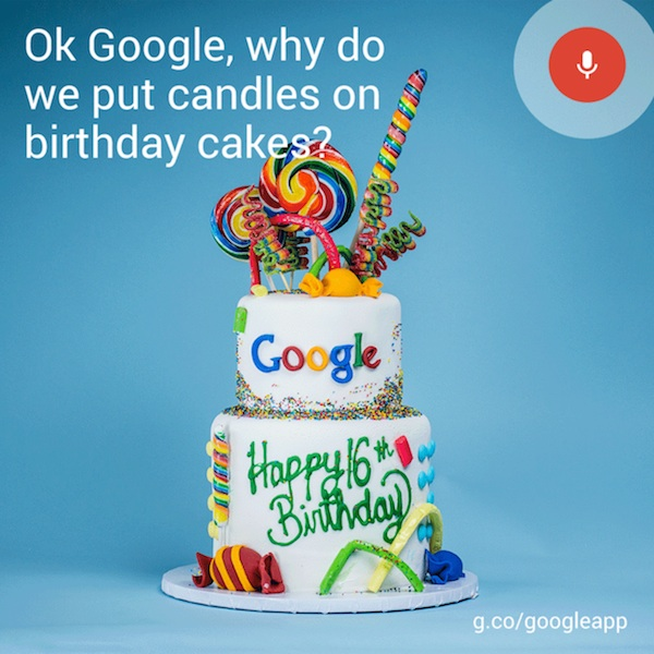 Google 16th Birthday Cake Android L Name