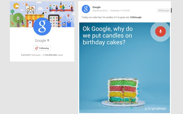 Did Google Hint Android L's Name on its 16th Birthday Cake ...