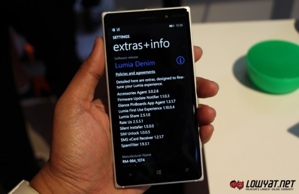 Hands On - Nokia Lumia 830 09